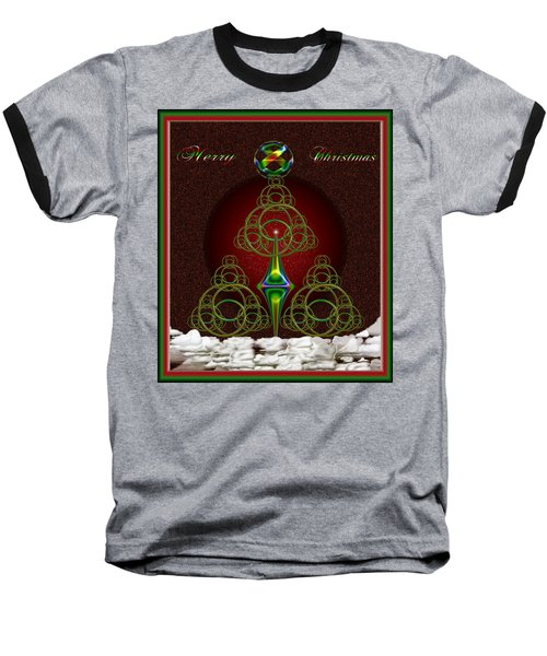 Christmas Greetings Baseball T-Shirt