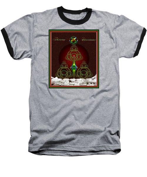 Christmas Greetings Baseball T-Shirt