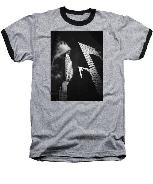 Chrysler Building - New York City Baseball T-Shirt