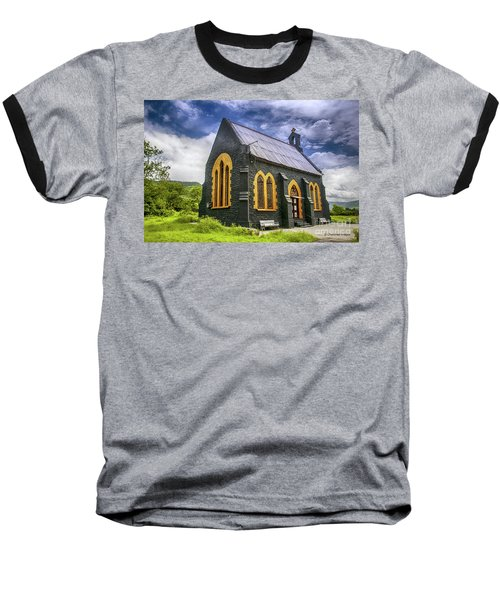 Baseball T-Shirt featuring the photograph Church by Charuhas Images