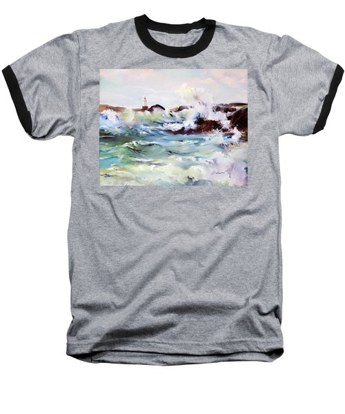 Churning Surf Baseball T-Shirt