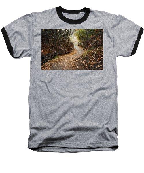 City Creek Bridge Baseball T-Shirt