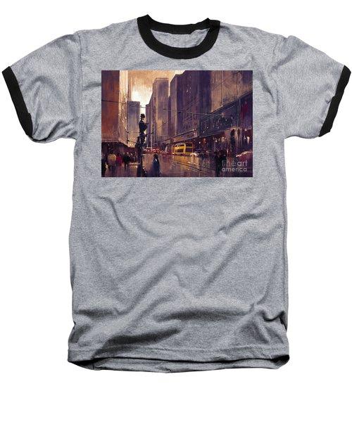 City Street Baseball T-Shirt