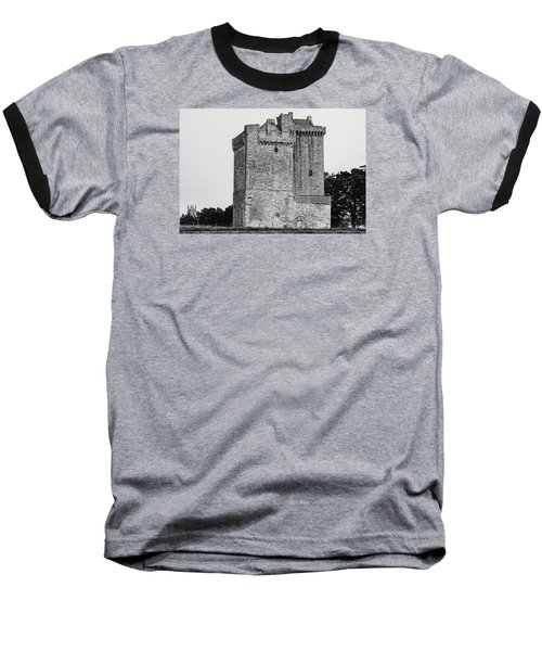 Clackmannan Tower Baseball T-Shirt by Jeremy Lavender Photography