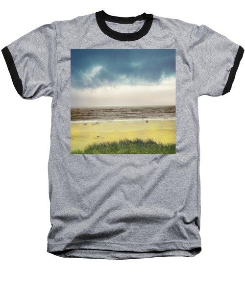 Clearing Storm Montauk Baseball T-Shirt