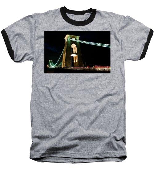 Clifton Suspension Bridge, Bristol. Baseball T-Shirt