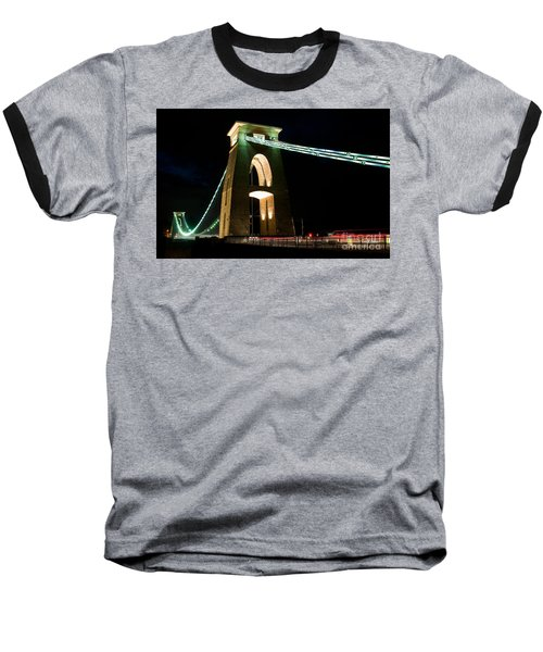 Clifton Suspension Bridge, Bristol. Baseball T-Shirt
