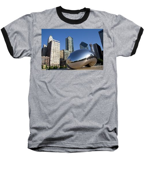 Cloudgate Reflects Baseball T-Shirt