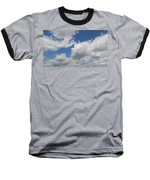 Clouds 16 Baseball T-Shirt by Rod Ismay