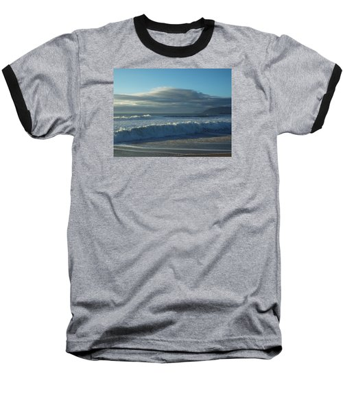 Cloudy Day Baseball T-Shirt