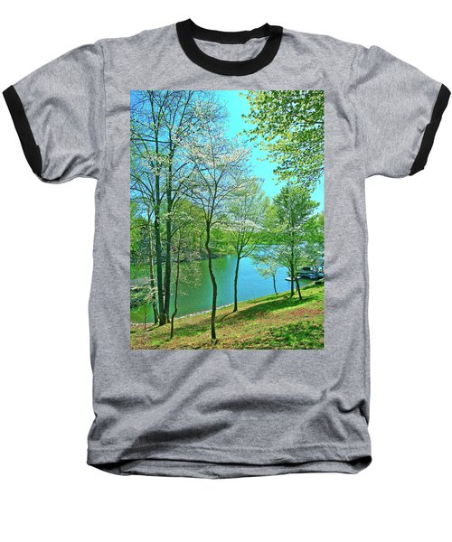 Cluster Of Dowood Trees Baseball T-Shirt