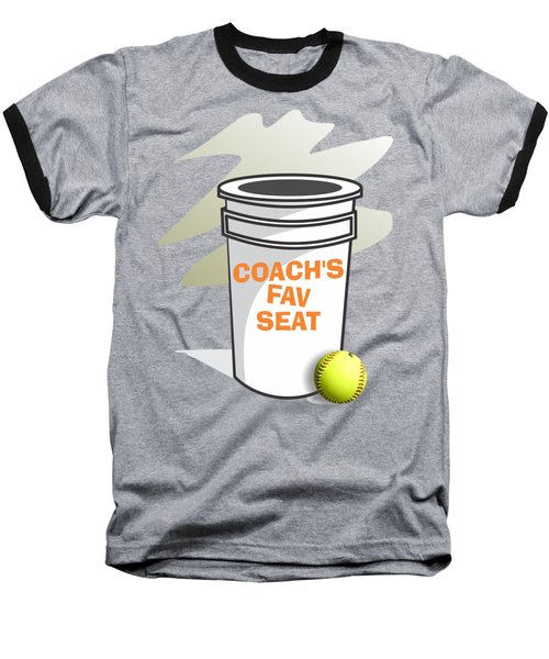 Coach's Favorite Seat Baseball T-Shirt