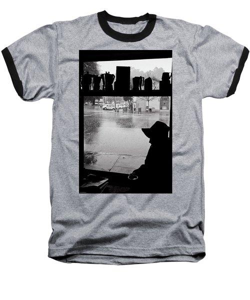 Coffee In The Rain Baseball T-Shirt
