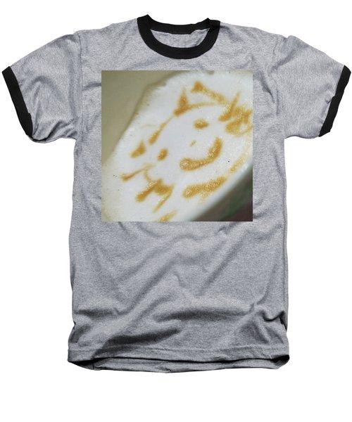 Coffeeart Kitten  Baseball T-Shirt