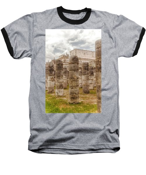 Colomnade Of Warriors Baseball T-Shirt