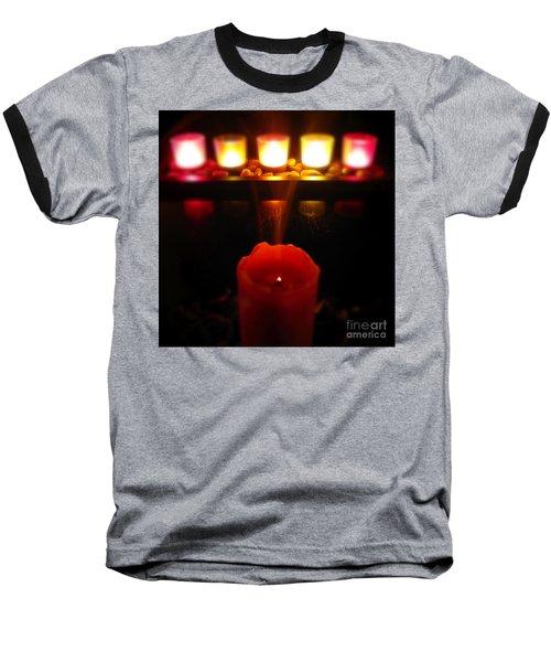 Color In Lights Baseball T-Shirt
