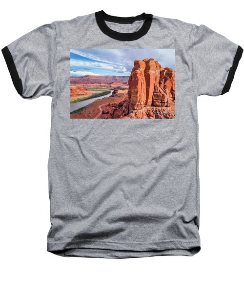 Colorado River And Chicken Corner Trail  Baseball T-Shirt