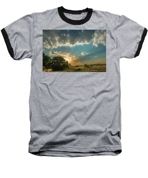 Colorado Sunset Baseball T-Shirt