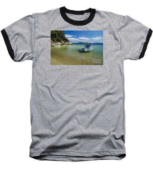 Colorful Boat Baseball T-Shirt