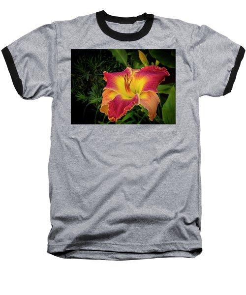 Colorful Lily  Baseball T-Shirt