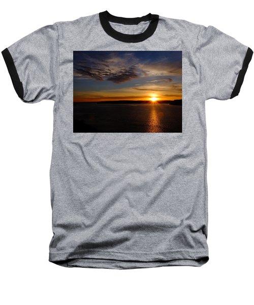 Colors Baseball T-Shirt by John Rossman