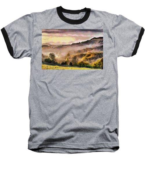 Colors Of Autumn Baseball T-Shirt by Gun Legler