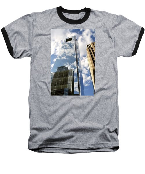 Comcast Center Baseball T-Shirt by Christopher Woods