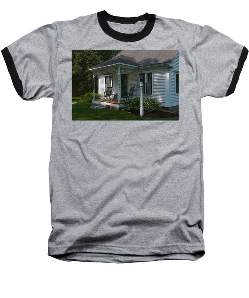 Come Sit On My Porch Baseball T-Shirt by Brenda Jacobs