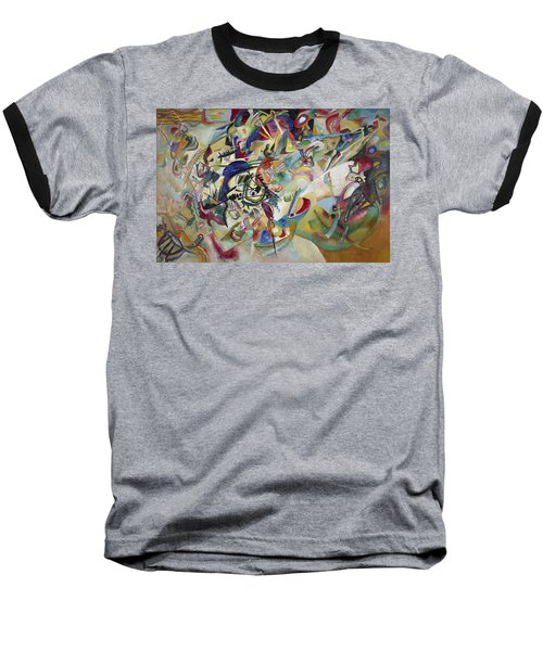Composition Vii Baseball T-Shirt by Wassily Kandinsky