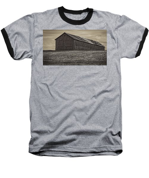 Connecticut Tobacco Barn Baseball T-Shirt