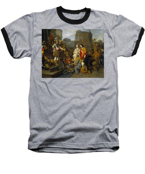 Continence Of Scipio Baseball T-Shirt