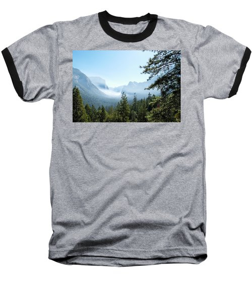Controlled Burn Of Yosemite Baseball T-Shirt