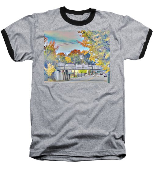 Cooper Young Trestle Baseball T-Shirt