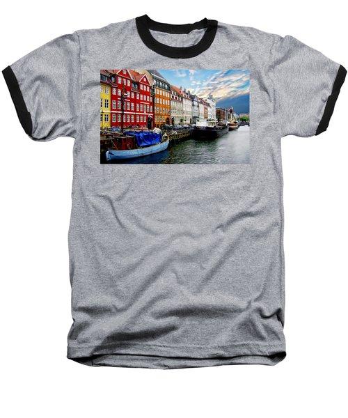 Copenhagen - Denmark Baseball T-Shirt