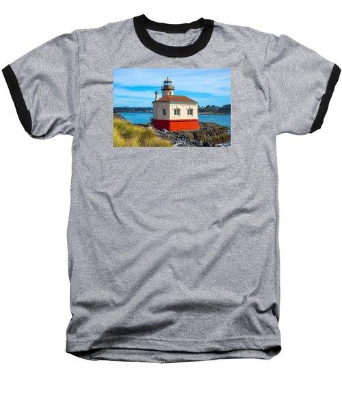 Coquille Lighthouse Baseball T-Shirt