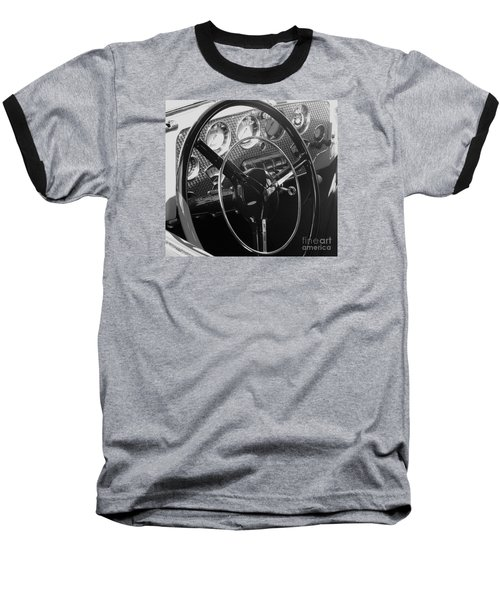 Cord Phaeton Dashboard Baseball T-Shirt