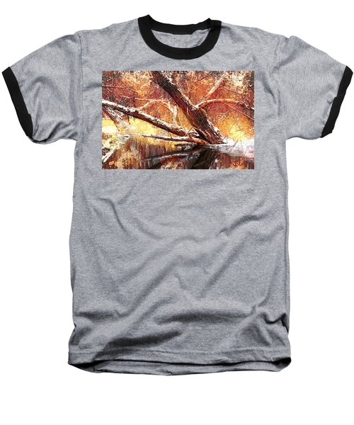 Cordukes Creek  Baseball T-Shirt by Jim Vance