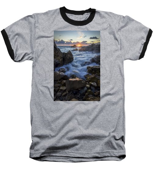 Baseball T-Shirt featuring the photograph Corona Del Mar by Sean Foster