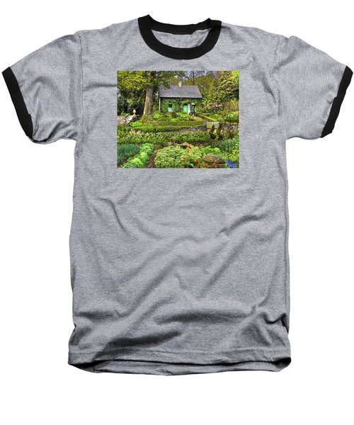 Cottage In The Green Baseball T-Shirt