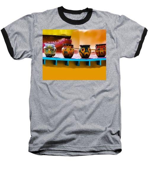 Courtyards Of Taos Baseball T-Shirt