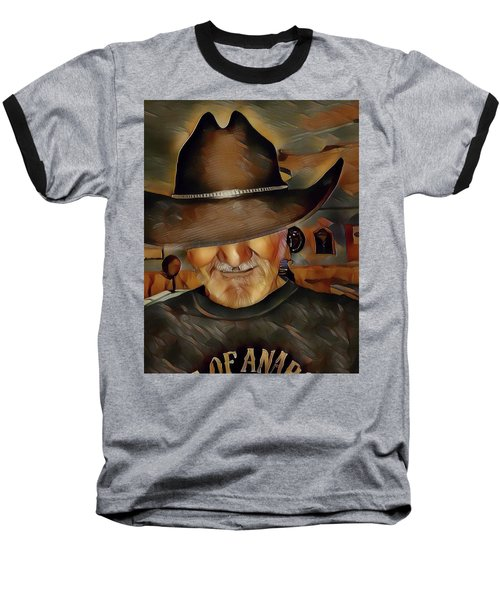 Cowboy Baseball T-Shirt by Robert Smith