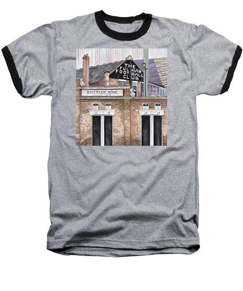Craven Cottage Baseball T-Shirt by Scott Nelson