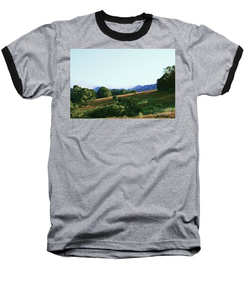 Baseball T-Shirt featuring the photograph Creator's Sky Painting by Polly Peacock