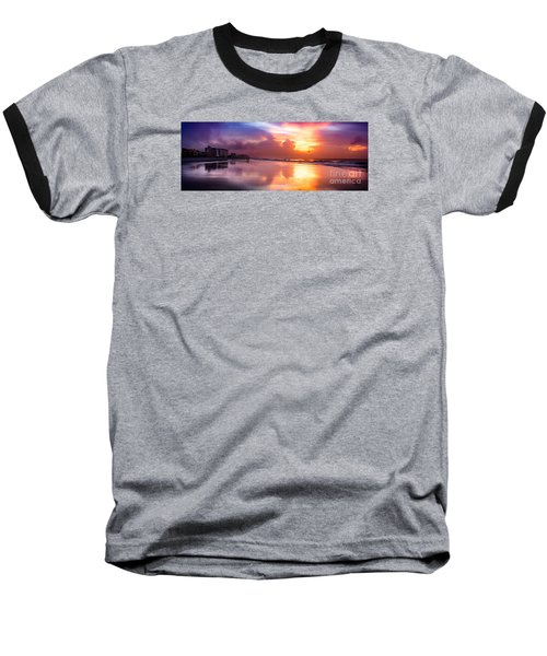 Crescent Beach September Morning Baseball T-Shirt
