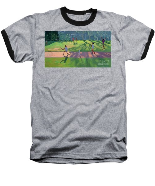 Cricket Sri Lanka Baseball T-Shirt by Andrew Macara