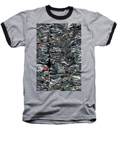 Crushed Cans Baseball T-Shirt