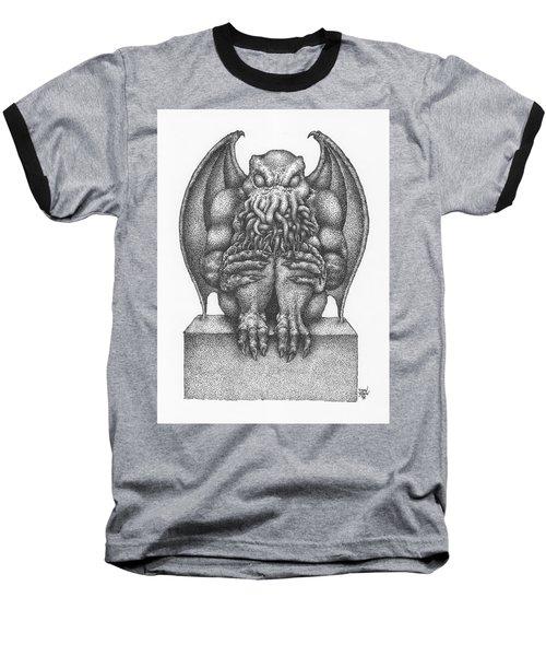 Cthulhu Idol Baseball T-Shirt