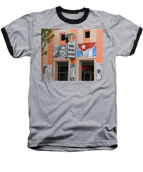 Cubacho Lounge Baseball T-Shirt