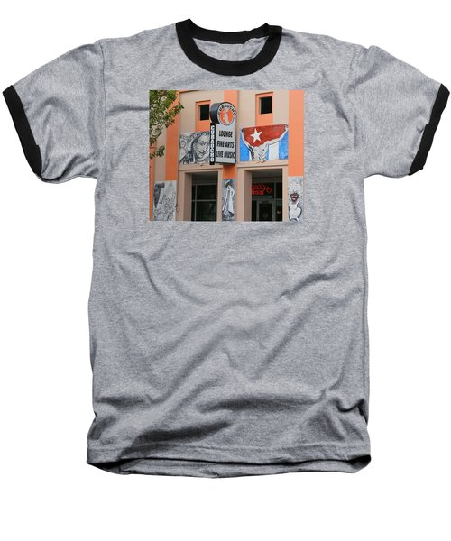 Cubacho Lounge Baseball T-Shirt