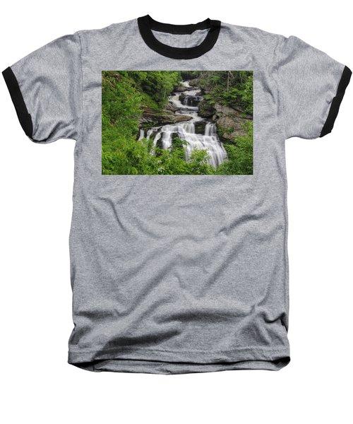 Cullasaja Falls Baseball T-Shirt
